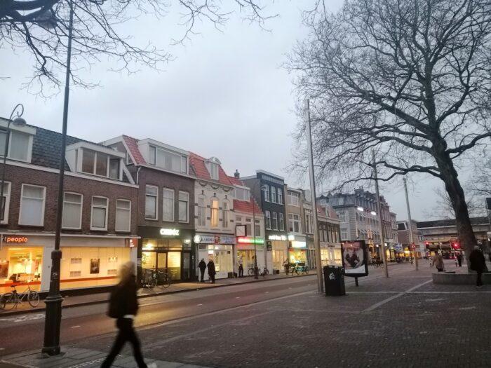 Taken from outside of Haarlem's train station
