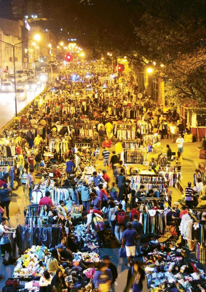 The bustling Night Market at Harrison Road