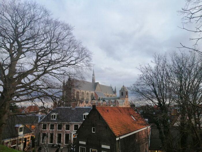 View from the top of Burcht van Leiden
