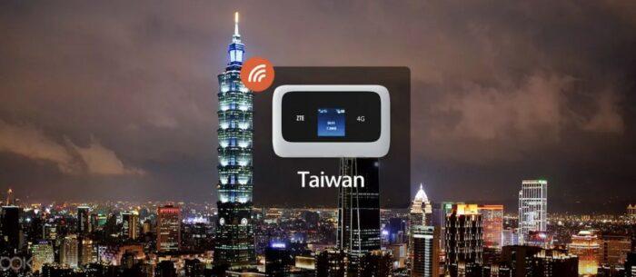 4G WiFi Device Rental in Kaohsiung Taiwan image via KLOOK