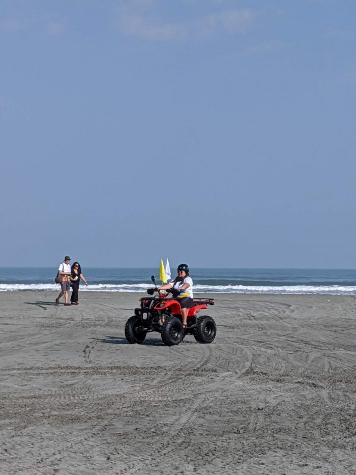 ATV at the Lingayen Beach