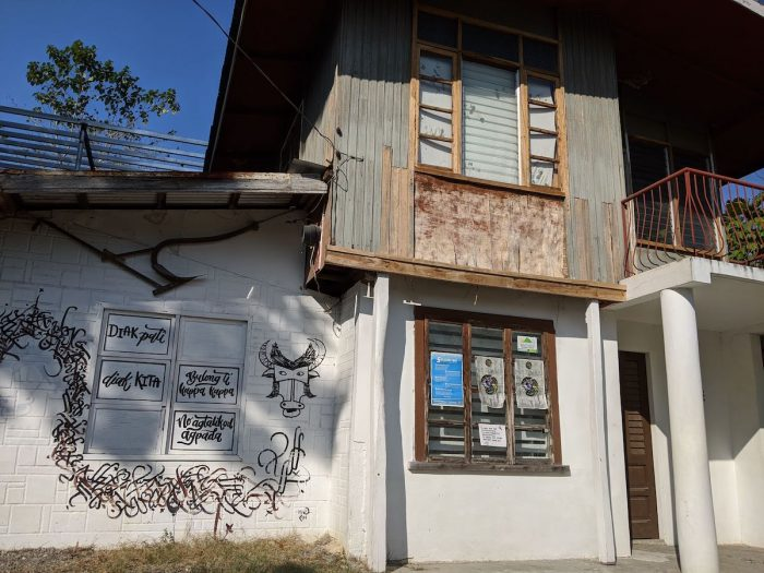 Ancestral house turned gallery cafe, Ciano Umok