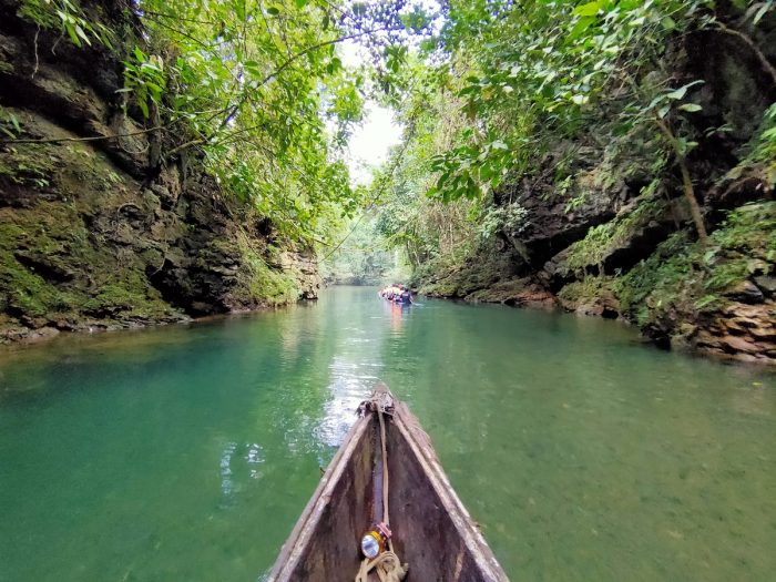 Boat Ride to Lussok Crystal Cave of Luna Apayao