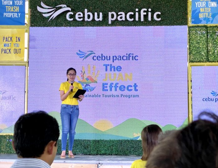 Candice Iyog, Vice President for Marketing and Customer Experience at Cebu Pacific