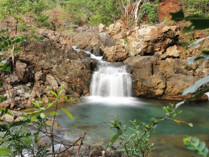 Dagubdob Falls in San Fernando Sibuyan Island