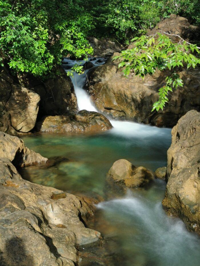 Dagubdob Falls in Sibuyan