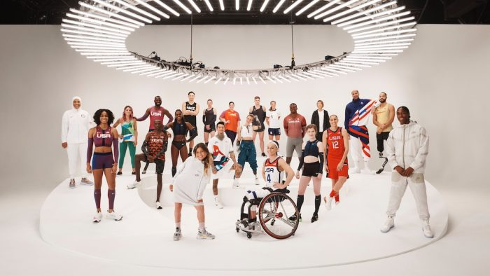 Group of athletes joined the Nike 2020 Forum in New York