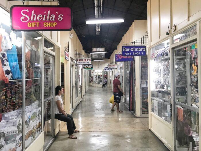 Inside Aldevinco Shopping Center