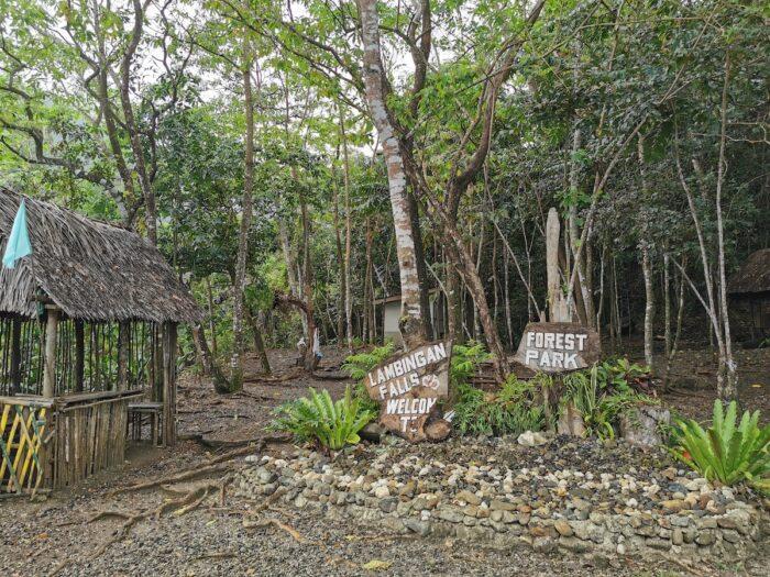Lambingan Falls Forest Park in Sibuyan