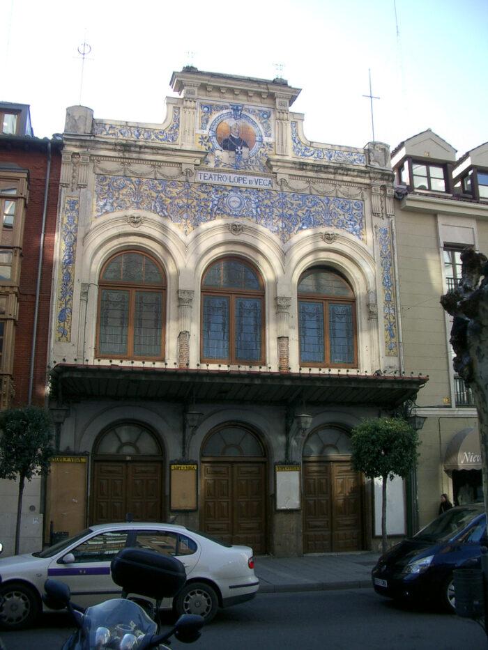 Lope de Vega Theatre in Valladolid photo via Wikipedia CC
