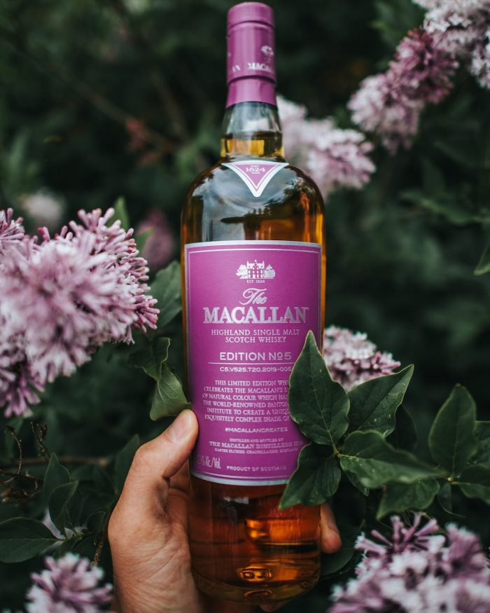 The Macallan Edition No. 5 inspired The Macallan Edition Purple; a colour that celebrates the artistry found in nature.
