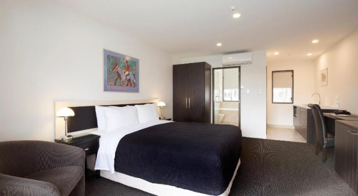 Room at Pavilions Hotel in Christchurch