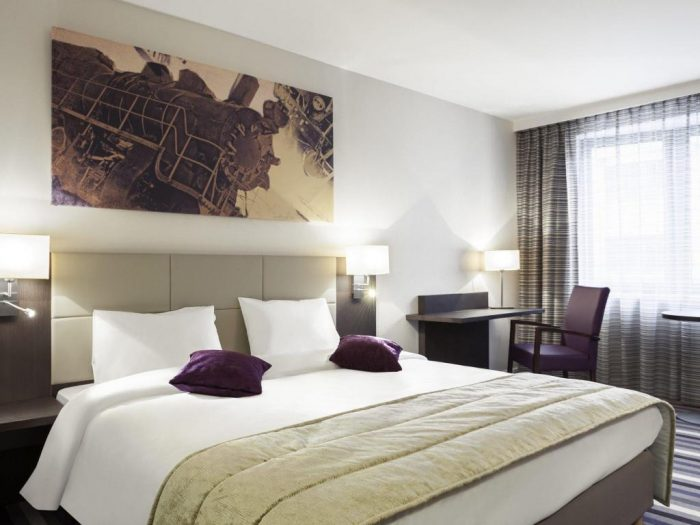 Rooms at Hotel Mercure Brussels Centre Midi