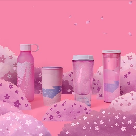 Starbucks 2020 Cherry Blossom Collection