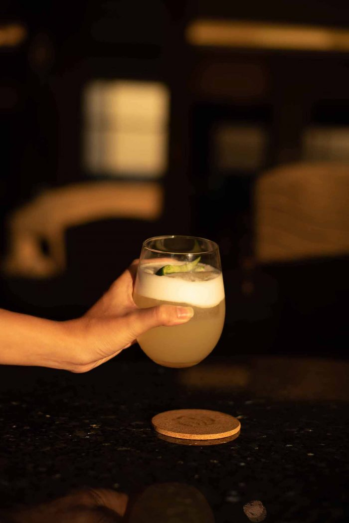 Sunset Sour at 22 Prime Lounge