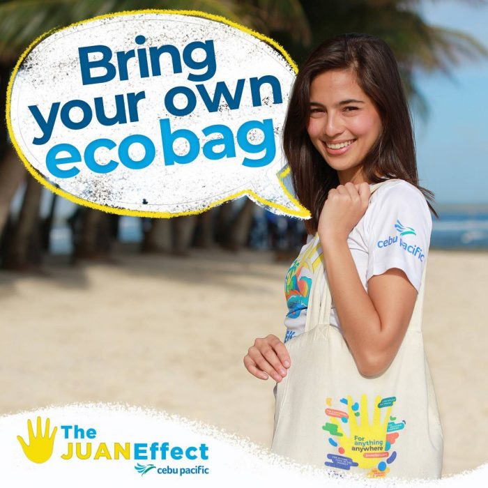 Support the #JuanEffect Sustainable Tourism Program of Cebu Pacific