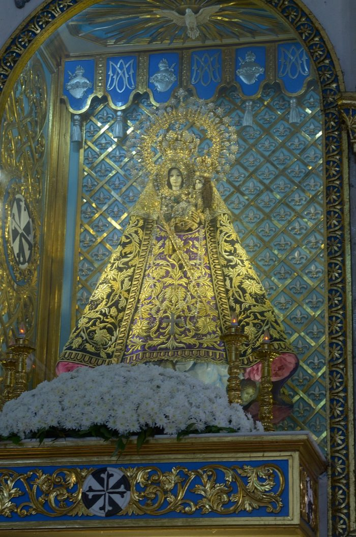 The Image of Our lady of Manaoag photo by Volkswagenking28 via Wikipedia CC