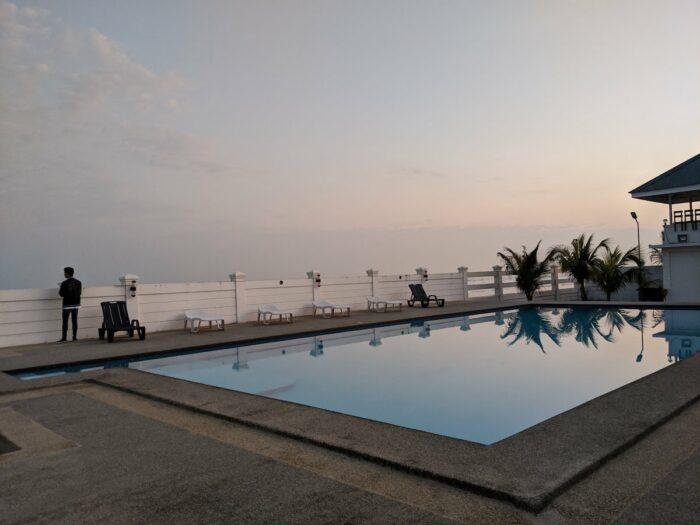The pool at MacArthur Samson Beach Resort