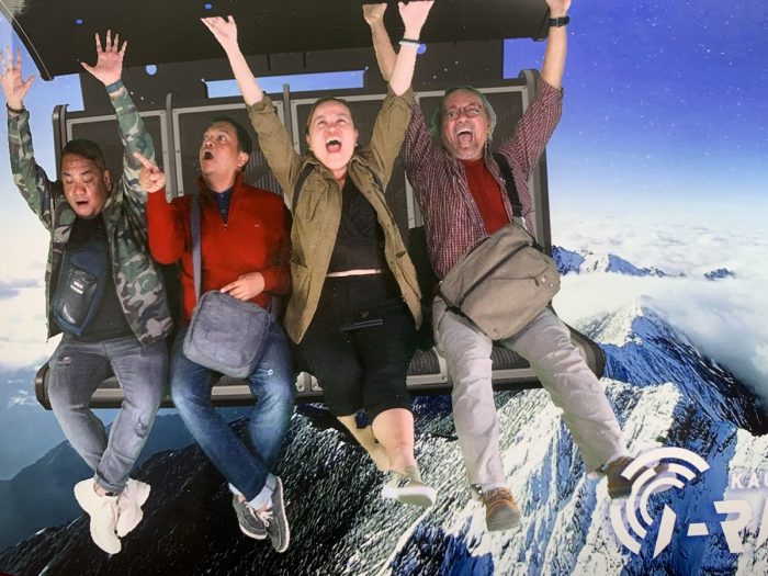 i-Ride 5D Visual Flying Theater in Kaohsiung