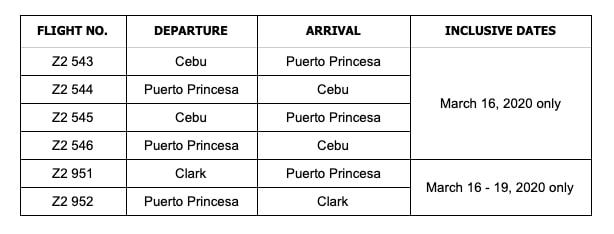 AirAsia to mount Puerto Princesa recovery flights