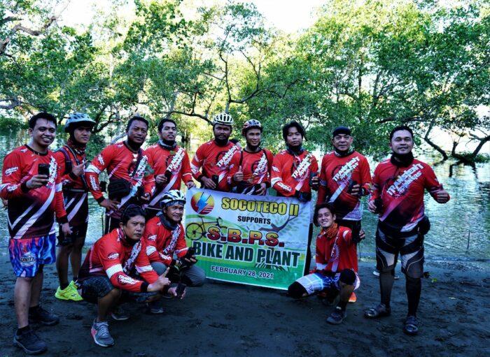 Bike and Plant Sarangani Bay Protected Seascape