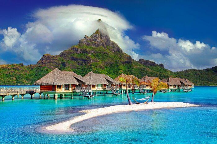 Bora Bora overwater bungalow