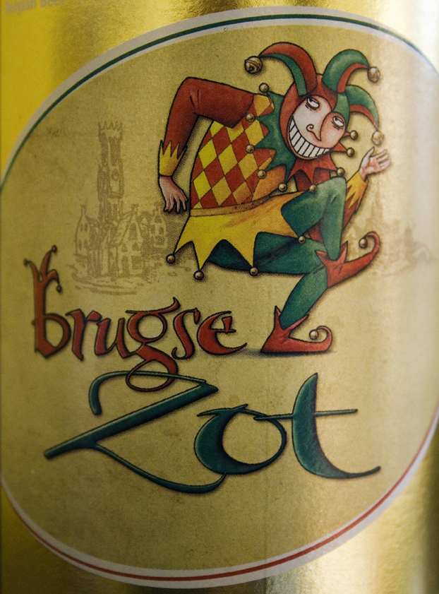 Brugse Zot beer by Wikifalcon via Wikipedia CC