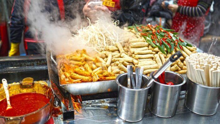 Buy local street food
