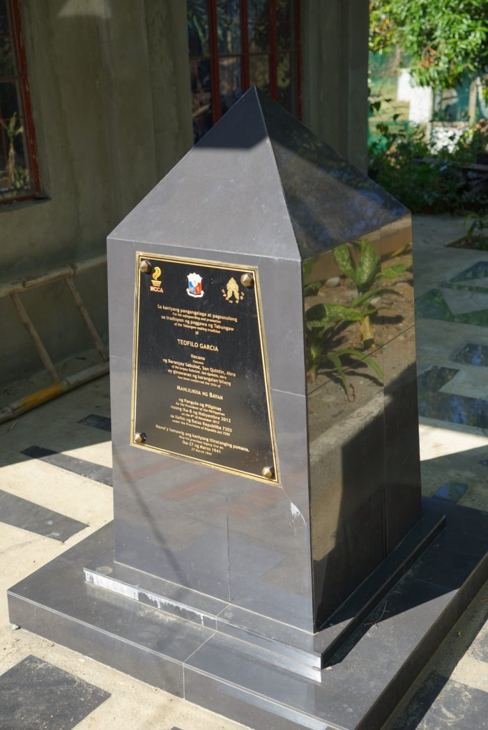 National Treasure Awardee Marker