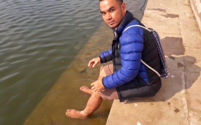 OutofTown contributor takes a holy dip at Pushkar Lake