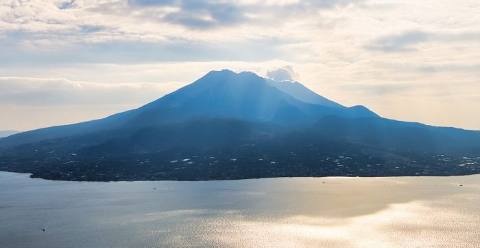 Sakurajima by Parco Chan via Unsplash