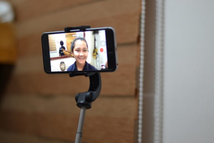 Sample Selfie shot using the Momax Selfie Stable Smartphone Gimbal