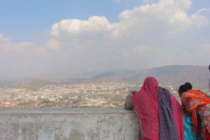 View of Pushkar from atop Savitri Temple
