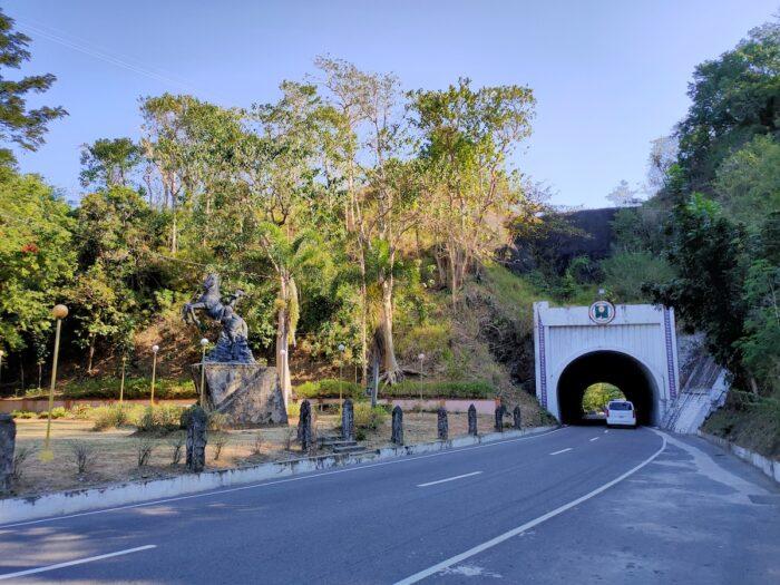 Tangadan Tunnel in Abra Province