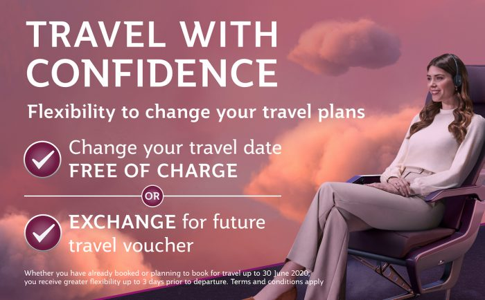Travel With Confidence with Qatar Airways