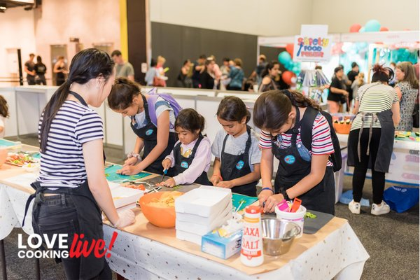 Fun, hands-on cooking workshops for kids at Love Cooking Live!