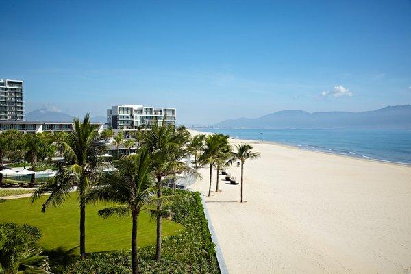 Beach view from Hyatt Regency Danang Resort and Spa