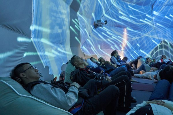 ViewSonic worked with Rebalance Renaissance Company to create Asia's first 360-degree immersive fulldome festival using ViewSonic's laser projection technology.