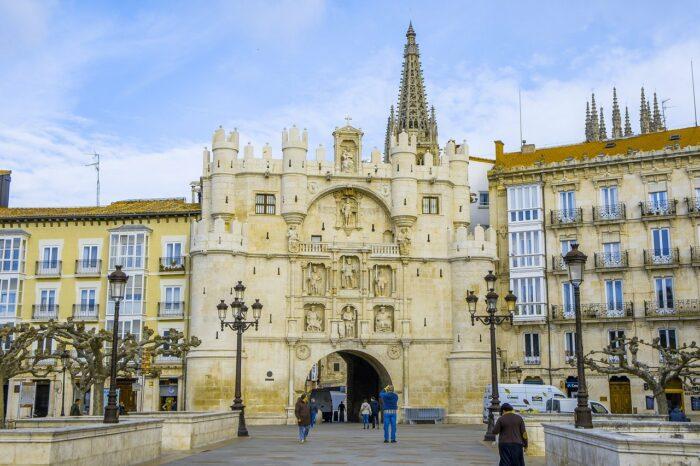 Arco de Santa Maria in Burgos Spain
