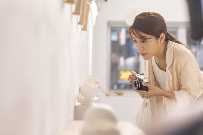 Arts in HK - Interactive microfilm Director Kearen Pang
