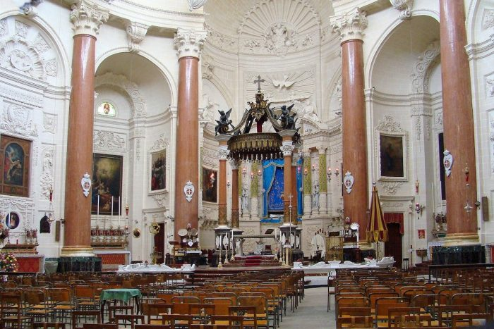 Basilica of Our Lady of Mount Carmel Valletta by Hajotthu via Wikipedia CC