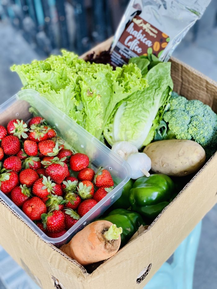 Fresh Fruits and Vegetable Delivery via Session Groceries App
