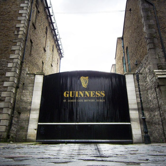 Guinness Open Gate Brewery by Mikel Ortega via Wikipedia CC