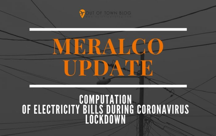 How Meralco will compute electricity bills during COVID-19 lockdown