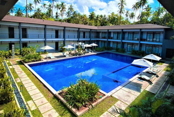 Huni Hotel at Lio Beach