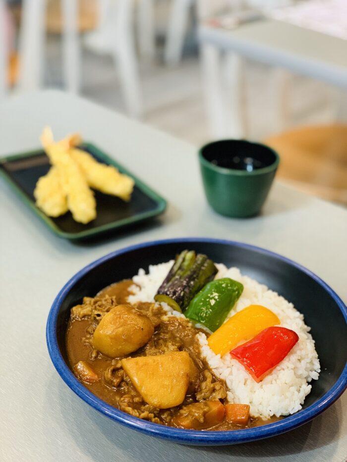 Japanese Beef Curry at Moshi-Koshi
