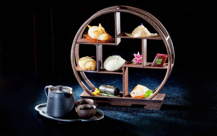 A celebrated signature, dim sum, is showcased with a new Man Hing Dim Sum Platter of seven signature favourites suggested for 2, discounted from HK$284 to HK$198