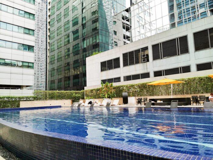 Mini Suites Eton Tower Swimming Pool