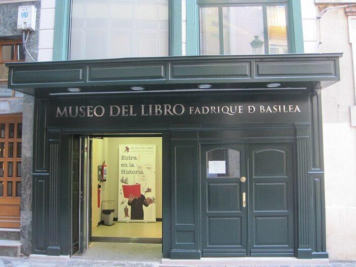 Museu del Libro Fadrique de Basilea by Eltitomac via Wikipedia CC