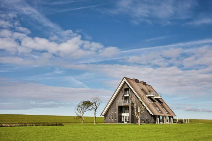 Nature house in Friesland, Holland